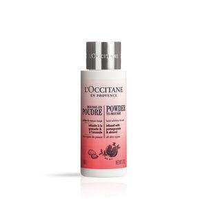 Powder to-Mousse Facial Exfoliator